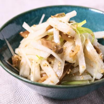 ザーサイと大根の簡単サラダ