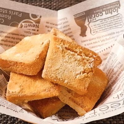 食パンで簡単 きなこの揚げパン風