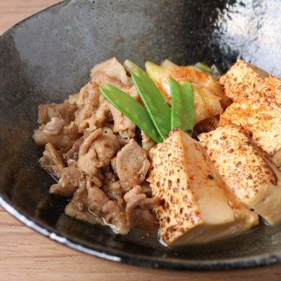 さっと一品 肉豆腐