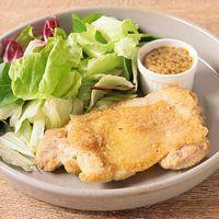 おからパウダーで 鶏もも肉のパリパリ焼き