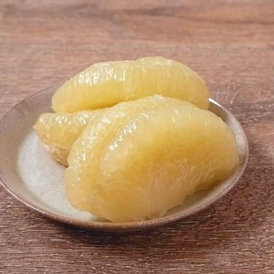 晩白柚のむき方