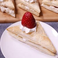 超簡単!バースデーケーキ パイ