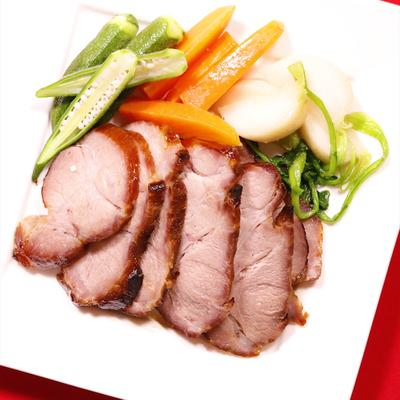 豚ロース肉のはちみつ漬けロースト