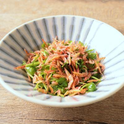 桜エビのパクチーサラダ