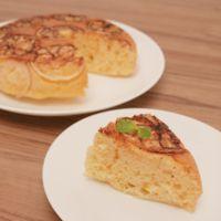炊飯器で簡単 さっぱりレモンケーキ