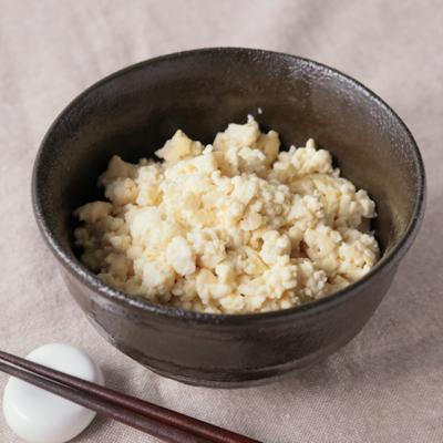 低糖質 白米の代わりに豆腐でご飯風