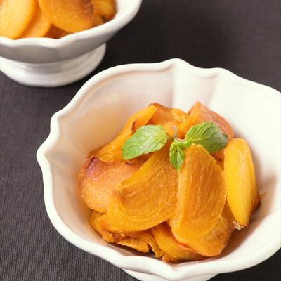 柿大量消費ドライフルーツの作り方