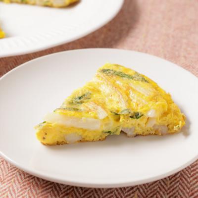 とろ~りチーズと長芋のオムレツ