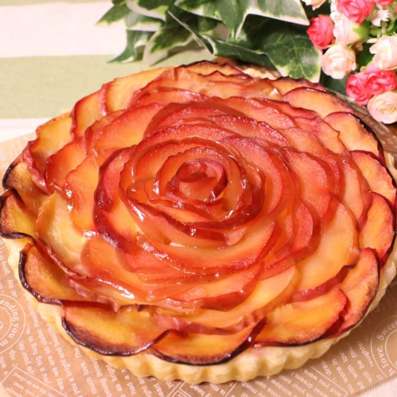 冷凍パイシートを使って簡単!バラのようなアップルパイ 作り方・レシピ