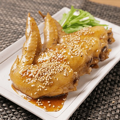 フライパンでお手軽!鶏手羽の甘辛煮