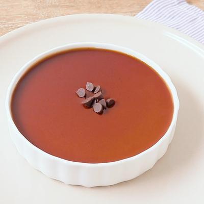 濃厚チョコレートのカタラーナ風