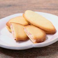 ピンクでかわいいイチゴチョコサンドクッキー