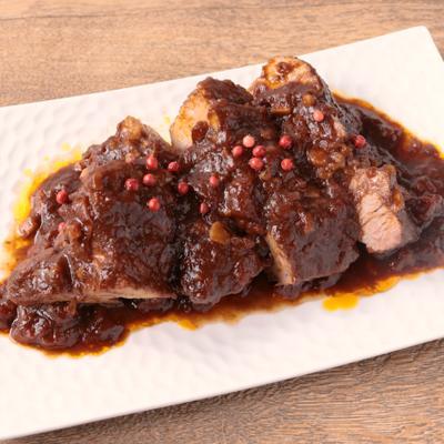 豚肉の柔らかバルサミコ煮