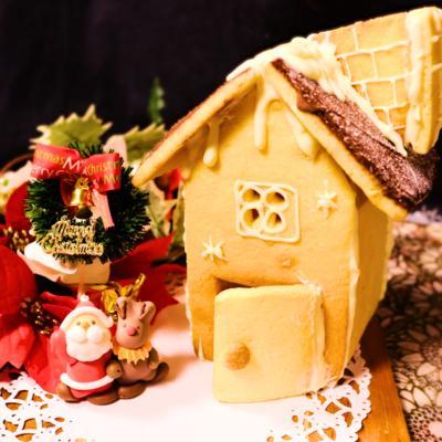 メリークリスマス!牛乳パックdeお菓子のお家