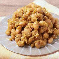 カレー風味のツナ味噌大豆