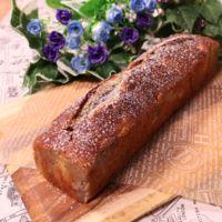 午後のおやつに♪ ブルーベリージャムのパウンドケーキ