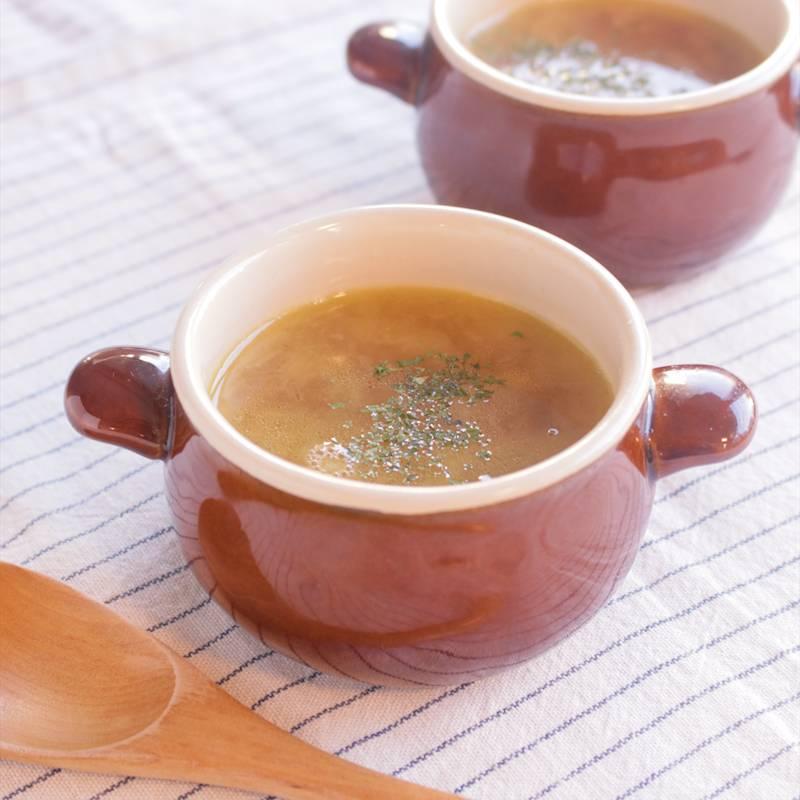 丸ごと オニオン スープ