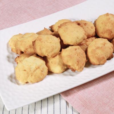 ココナッツロングのドロップクッキー