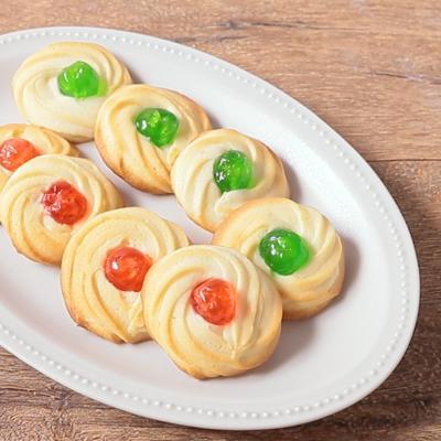 キラキラ可愛い 絞り出しクッキー