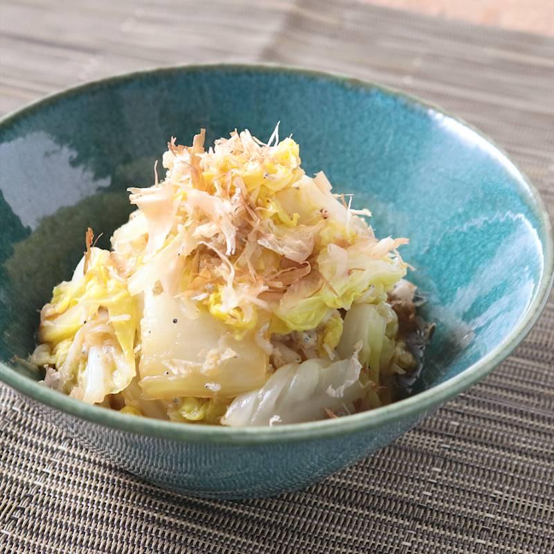 白菜としらすの和風和え レシピ・作り方