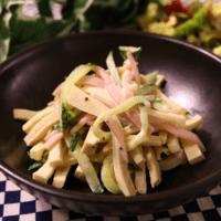 高野豆腐のサラダ