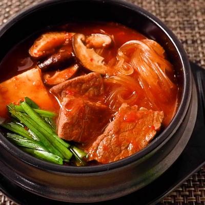 つるつる食感 牛肉のテグタンスープ