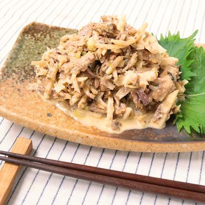 お手軽おつまみ 新生姜とさんまの缶詰の香味和え