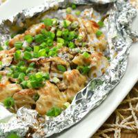 トースターで簡単 鶏もも肉と野菜のマヨホイル焼き