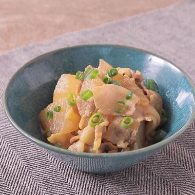 大根と豚バラ肉のカレー煮