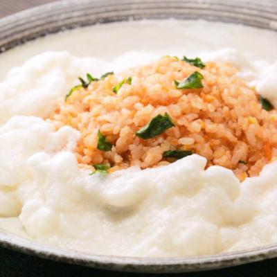 ふわふわ卵のタラコ炒飯