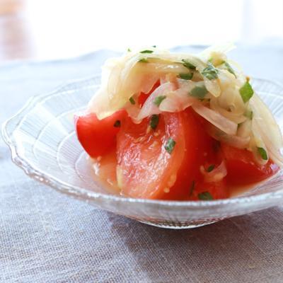 簡単 トマトの和風マリネ
