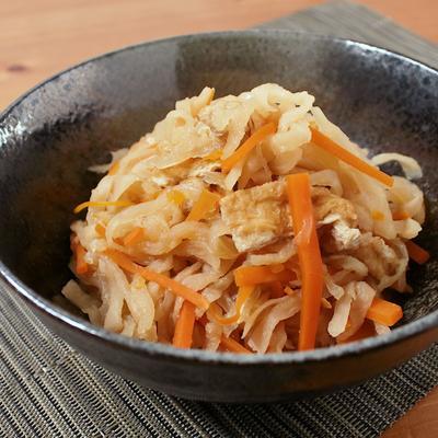 常備菜に 塩麹で切干し大根の煮物
