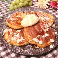 グルテンフリー!大豆粉のパンケーキ