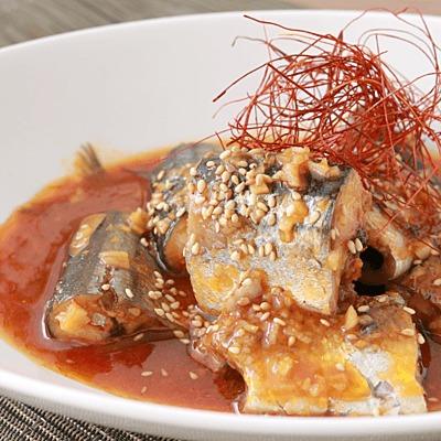 サンマの韓国風みそ煮