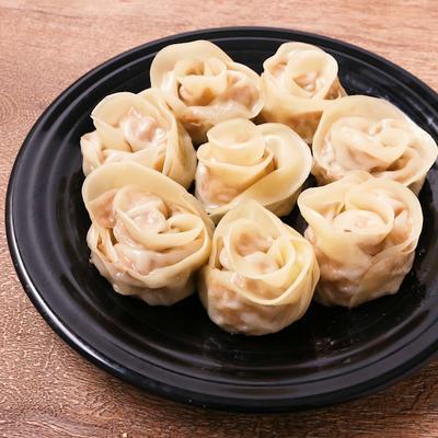 お花で華やか タケノコ餃子