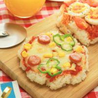 トースターで簡単 ミニごはんピザ