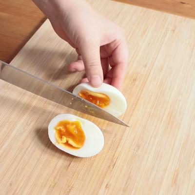 半熟卵の作り方