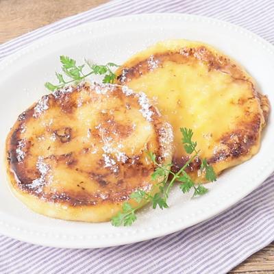 イングリッシュマフィンで作る フレンチトースト
