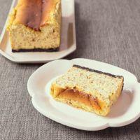 紅茶とクリームサンドココアクッキーのチーズケーキ