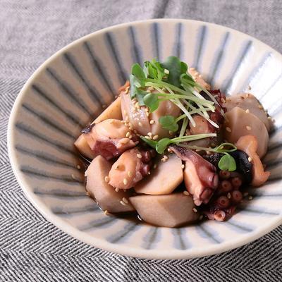 タコと里芋のこっくり煮物