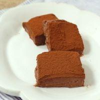 ヘルシー豆腐生チョコ