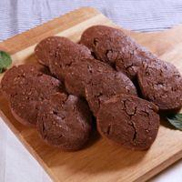 ココアとココナッツのアイスボックスクッキー