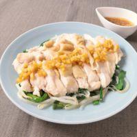 レンジで簡単 鶏むね肉の中華風セロリソース和え
