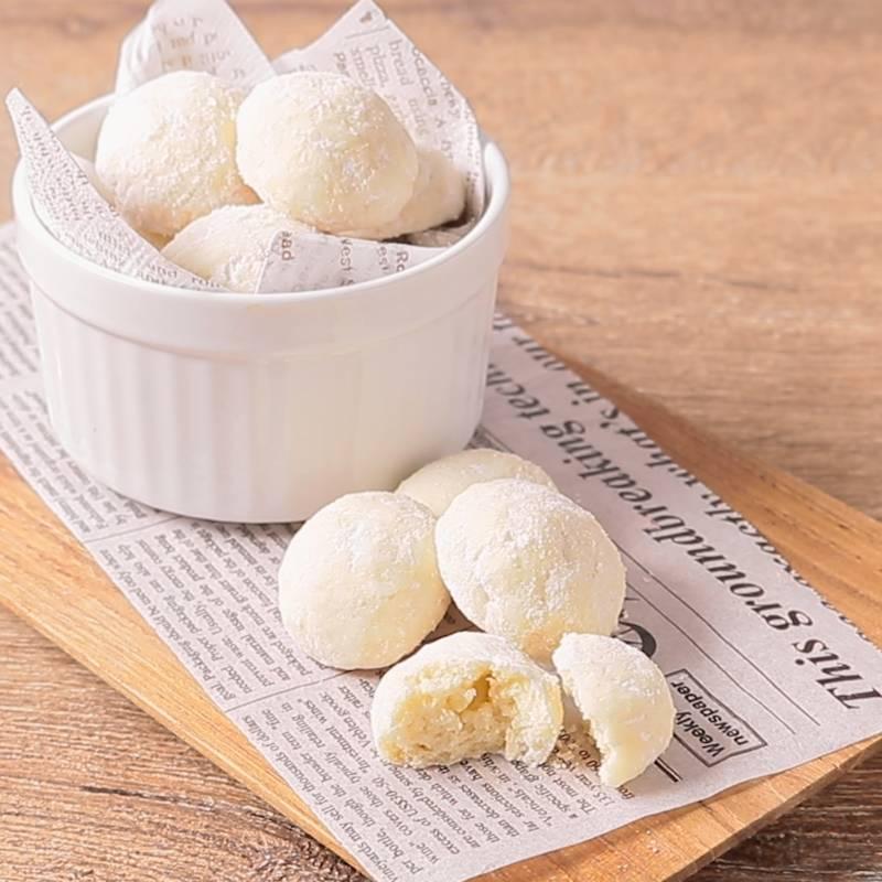 スノー ボール クッキー スノーボールクッキーレシピ・作り方の人気順|簡単料理の楽天レシピ