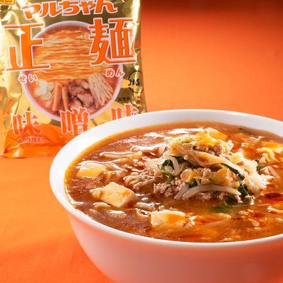 マルちゃん正麺公式 キムチと豆腐のもやし味噌ラーメン