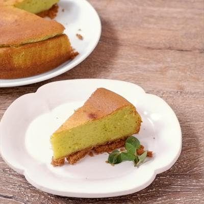 ピスタチオクリームチーズケーキ