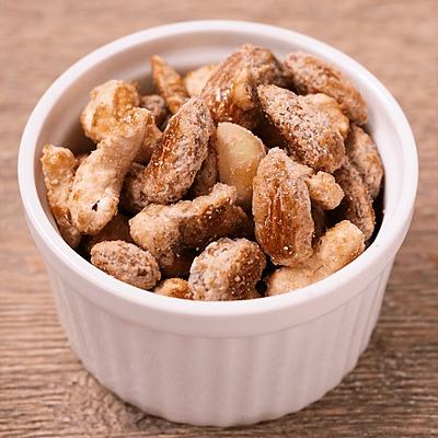 簡単おつまみ ミックスメープルナッツ