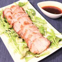炊飯器でジューシー!肉汁溢れる煮豚