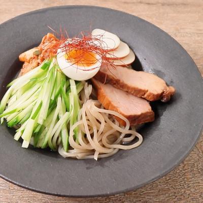 韓国風ピリ辛冷麺
