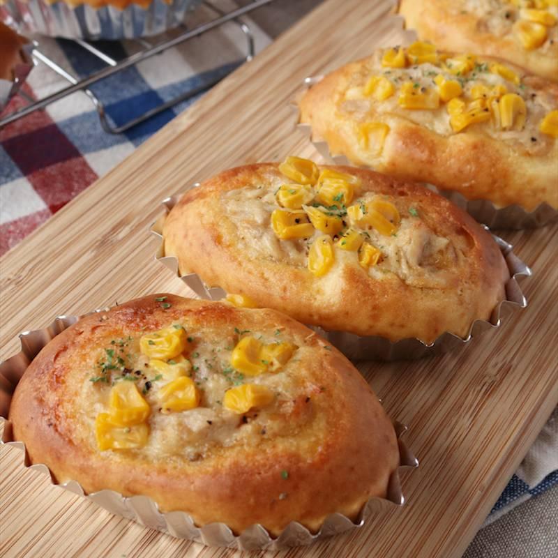 ケーキ アレンジ パン ミックス